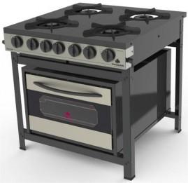 Fogão Industrial Gourmet Inox PRGE-402F Progás