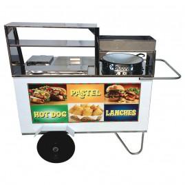 Carrinho de Pastel, Hot Dog e Lanche - Alsa C.3.1.1.P