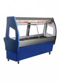 Expositor de Açougue Modulado Top Inox 1,5m RF 096 T Frilux