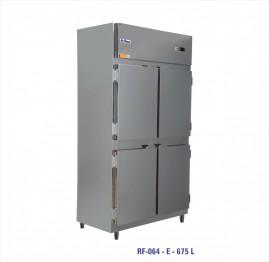 Geladeira/Refrigerador Comercial Inox 4 Portas Cegas RF-064 Frilux