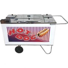 Carrinho de Hot Dog com Chapa - Alsa C.H.3