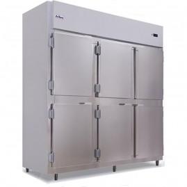Geladeira/Refrigerador Comercial Inox 6 Portas Cegas RF-067 Frilux - 220V