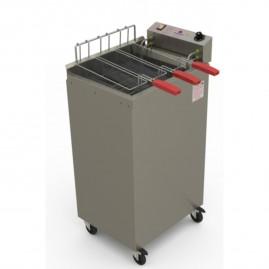 Fritador Água e Óleo Fry Fritter 8000w 22l Progás eletronico