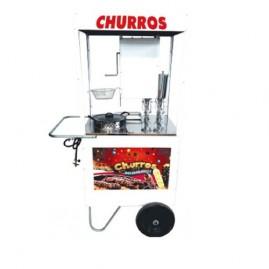 Carrinho de Churros com 1 doceira - Alsa  C.H.U.1