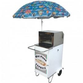 Carrinho de Mini Pizza - Alsa CPZ